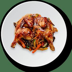 Asian style chicken dish